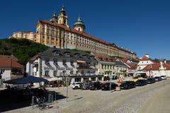 Abadía de Melk, Wachau, Austria Foto de archivo