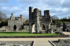 Abadía de Mellifont, condado Louth Fotos de archivo libres de regalías