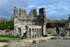 Abadía de Mellifont, Irlanda Imágenes de archivo libres de regalías