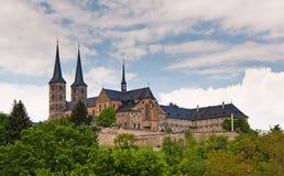 Abadía de Michaelsberg, Bamberg Fotografía de archivo libre de regalías