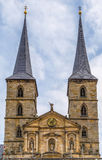 Abadía de Michaelsberg, Bamberg, Alemania Imagen de archivo libre de regalías