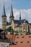 Abadía de Michaelsberg en Bamberg Imagen de archivo libre de regalías