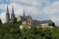 Abadía de Michaelsberg en Bamberg Imagenes de archivo