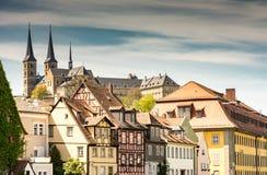 Abadía de Michaelsberg en Bamberg Fotografía de archivo libre de regalías