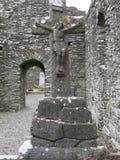 Abadía de Monasterboice Fotos de archivo