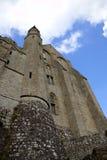 Abadía de Mont Saint Michel, Normandía, Francia Fotos de archivo libres de regalías