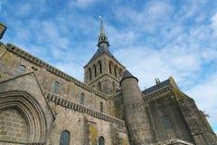 Abadía de Mont-Santo-Miguel Fotografía de archivo libre de regalías