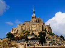 Abadía de Mont-Santo-Miguel, Francia Foto de archivo