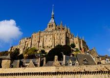 Abadía de Mont-Santo-Miguel, Francia Imagenes de archivo