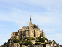 Abadía de Mont santo-Miguel, Normandía Imagen de archivo libre de regalías
