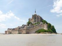 Abadía de Mont St Michel Imagen de archivo libre de regalías