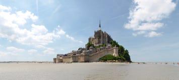 Abadía de Mont St Michel Foto de archivo libre de regalías