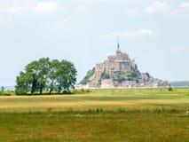 Abadía de Mont St Michel Imagen de archivo