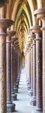 Abadía de Mont St Michel Imágenes de archivo libres de regalías