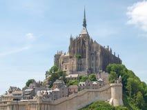 Abadía de Mont St Michel Fotografía de archivo libre de regalías