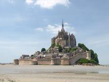 Abadía de Mont St Michel Fotos de archivo libres de regalías