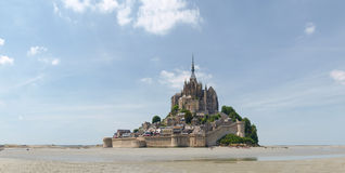 Abadía de Mont St Michel Fotos de archivo