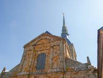 Abadía de Mont St Michel Foto de archivo