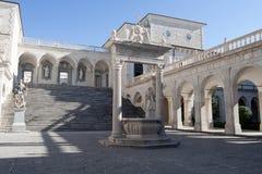 Abadía de Monte Cassino Imagenes de archivo