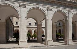 Abadía de Montecassino Fotos de archivo
