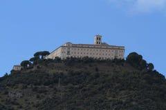 Abadía de Montecassino Fotografía de archivo libre de regalías