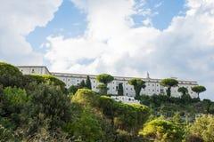 Abadía de Montecassino, Cassino, Italia Imágenes de archivo libres de regalías