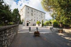 Abadía de Montecassino, Cassino, Italia Imagen de archivo libre de regalías