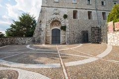 Abadía de Montecassino, Cassino, Italia Fotos de archivo libres de regalías