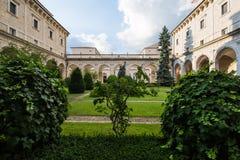 Abadía de Montecassino, Cassino, Italia Fotografía de archivo libre de regalías