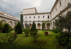 Abadía de Montecassino, Cassino, Italia Foto de archivo