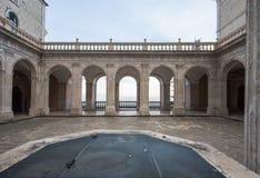 Abadía de Montecassino, Cassino, Italia Imagenes de archivo