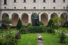 Abadía de Montecassino, Cassino, Italia Imagen de archivo