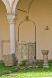 Abadía de Montescaglioso. Basilicata. Fotografía de archivo