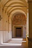 Abadía de Montescaglioso. Basilicata. Foto de archivo libre de regalías