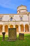 Abadía de Montescaglioso. Basilicata. Imagen de archivo libre de regalías