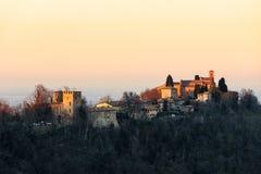 Abadía de Monteveglio, Bolonia - Italia Fotografía de archivo