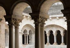 Abadía de Montmajour cerca de Arles, Francia Foto de archivo libre de regalías