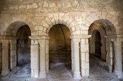 Abadía de Montmajour cerca de Arles, Francia Fotografía de archivo libre de regalías