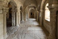 Abadía de Montmajour cerca de Arles, Francia Imágenes de archivo libres de regalías