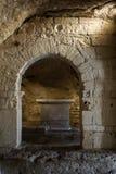 Abadía de Montmajour cerca de Arles, Francia Fotos de archivo libres de regalías