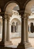 Abadía de Montmajour cerca de Arles Provence Francia Imagen de archivo