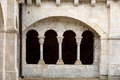 Abadía de Montmajour cerca de Arles Provence Francia Imagen de archivo libre de regalías