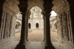Abadía de Montmajour cerca de Arles Provence Francia Fotos de archivo libres de regalías