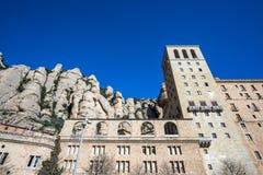 Abadía de Montserrat Fotos de archivo