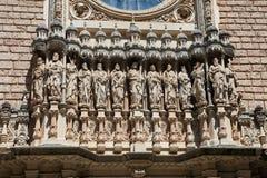 Abadía de Montserrat Imagen de archivo