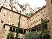 Abadía de Montserrat Fotos de archivo libres de regalías