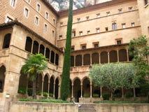 Abadía de Montserrat Foto de archivo
