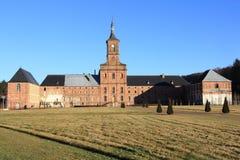 Abadía de Moyenmoutier, los Vosgos Foto de archivo