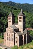 Abadía de Murbach, Alsacia Foto de archivo libre de regalías