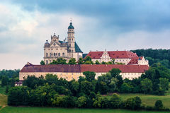Abadía de Neresheim Imagen de archivo